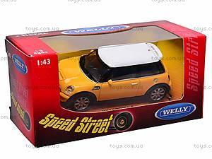 Коллекционная модель Mini Cooper, 44010CW, отзывы