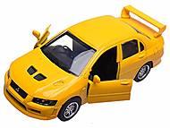Коллекционная модель Mitsubishi Lancer Evolution VII, 52533B, отзывы