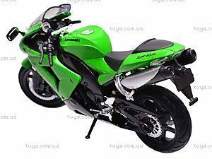 Коллекционная модель мотоцикла Kawasaki ZX-10R, 42443, фото