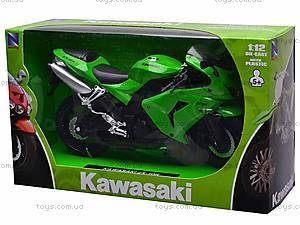 Коллекционная модель мотоцикла Kawasaki ZX-10R, 42443, отзывы