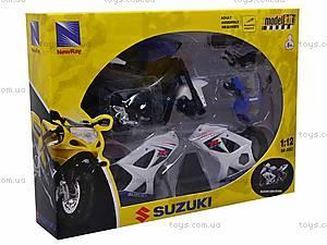 Коллекционная модель мотоцикла Suzuki, 57005, отзывы