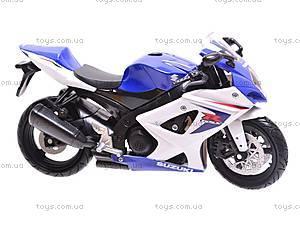 Коллекционная модель мотоцикла Suzuki GSX-R1000, 57003A, фото