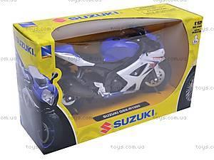 Коллекционная модель мотоцикла Suzuki GSX-R1000, 57003A, отзывы