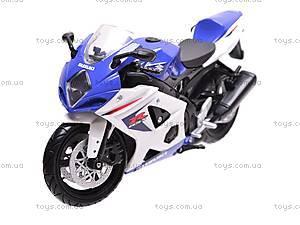 Коллекционная модель мотоцикла Suzuki GSX-R1000, 57003A, игрушки