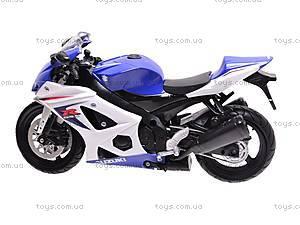 Коллекционная модель мотоцикла Suzuki GSX-R1000, 57003A, toys.com.ua