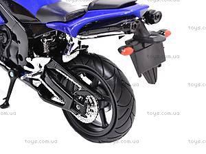 Коллекционная модель мотоцикла Yamaha YZF-R1, 43105, игрушки