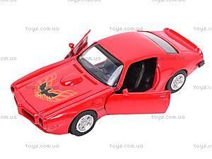 Коллекционная модель Pontiac 1973 Firebird Trans AM, 50493A