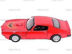 Коллекционная модель Pontiac 1973 Firebird Trans AM, 50493A, отзывы