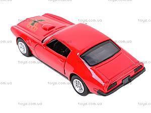 Коллекционная модель Pontiac 1973 Firebird Trans AM, 50493A, цена