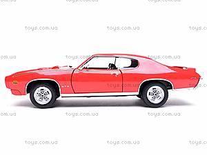 Коллекционная модель Pontiac GTO, 22501W, купить