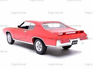 Коллекционная модель Pontiac GTO, 22501W, фото