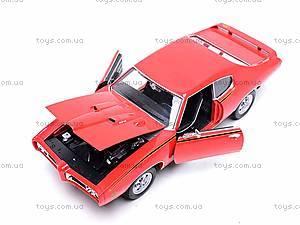Коллекционная модель Pontiac GTO, 22501W, цена