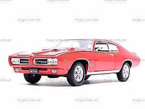 Коллекционная модель Pontiac GTO, 22501W