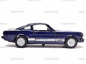 Коллекционная модель Shelby 1966 GT-350, 50423, игрушки
