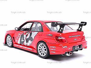 Коллекционная модель Subaru Impreza, 22487S-W, отзывы