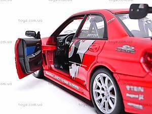 Коллекционная модель Subaru Impreza, 22487S-W, детские игрушки