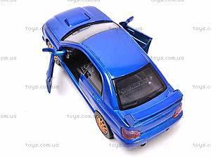 Коллекционная модель Subaru Impreza WRX STI, 52373A, отзывы