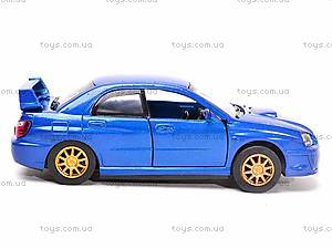 Коллекционная модель Subaru Impreza WRX STI, 52373A, цена