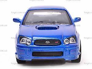Коллекционная модель Subaru Impreza WRX STI, 52373A, игрушки