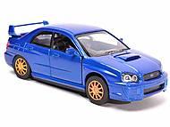 Коллекционная модель Subaru Impreza WRX STI, 52373A, фото