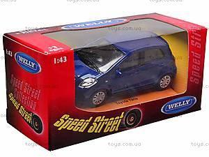 Коллекционная модель Toyota Yaris, 44003CW, фото