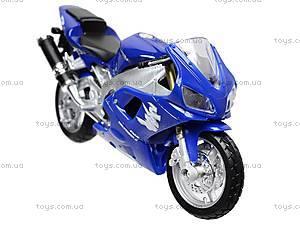 Коллекционный мотоцикл 1:18, 19660W-11A, купить