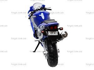 Коллекционный мотоцикл 1:18, 19660W-11A, отзывы