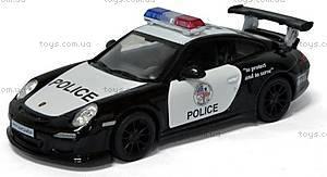 Коллекционная машина Porsche 911GT3 RS Police, KT5352WP