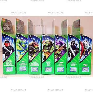 Коллекционная фигурка Mega Bloks из фильма «Подростки-мутанты Черепашки-ниндзя 2», DPW12, игрушки