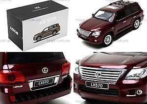 Коллекционная машина на радиоуправлении Lexus LX570, HQ200130