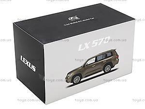Коллекционная машина на радиоуправлении Lexus LX570, HQ200130, набор