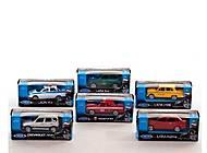 Коллекционная машина «Отечественная серия», 52020R-36WD(AB), купить