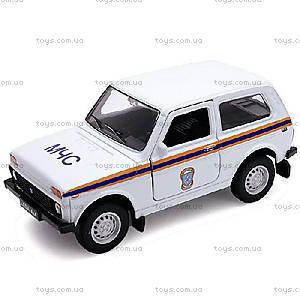 Коллекционная модель авто Lada «МЧС», 42386RE-W, купить