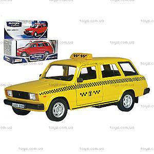 Коллекционная машинка для детей Lada «Такси», 32681W-CIS