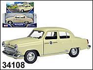 Модель автомобиля GAZ 21 Volga «Такси на Дубровку», 34108W-CIS, фото