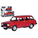 Игрушечная модель автомобиля Lada, 32674W-CIS