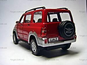 Коллекционная модель автомобиля UAZ Patriot «Пламя», 34332W-rus, фото