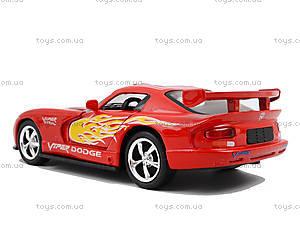 Коллекционная модель «Dodge Viper GT SR», KT5039WF, магазин игрушек