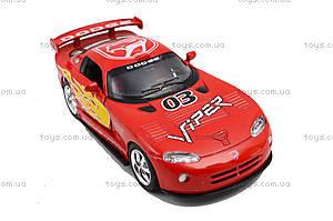 Коллекционная модель «Dodge Viper GT SR», KT5039WF, toys.com.ua