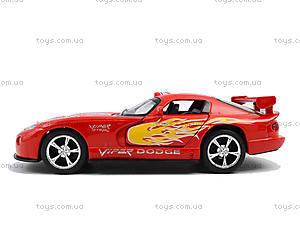 Коллекционная модель «Dodge Viper GT SR», KT5039WF, toys