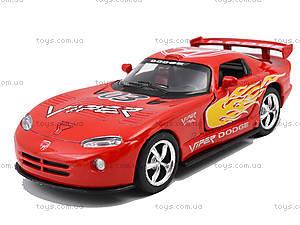 Коллекционная модель «Dodge Viper GT SR», KT5039WF, іграшки