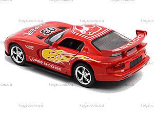Коллекционная модель «Dodge Viper GT SR», KT5039WF, Украина