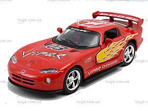 Коллекционная модель «Dodge Viper GT SR», KT5039WF, доставка