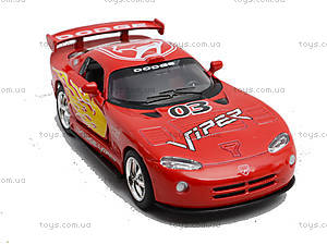 Коллекционная модель «Dodge Viper GT SR», KT5039WF, набор