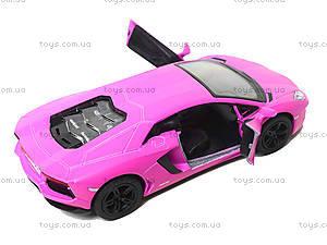 Коллекционная модель Lamborghini Matte, KT5370W, детский