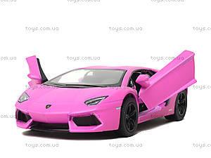 Коллекционная модель Lamborghini Matte, KT5370W, набор