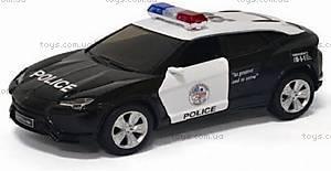 Коллекционная модель Lamborghini Urus Police, KT5368WP