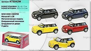 Коллекционная модель машинки «Mini Cooper», KT5042W