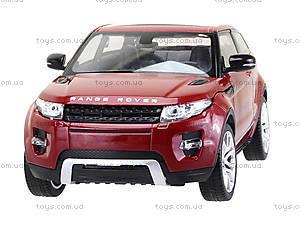 Коллекционная модель Renge Rover Evoque, 24021W, отзывы