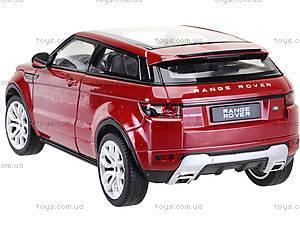 Коллекционная модель Renge Rover Evoque, 24021W, цена